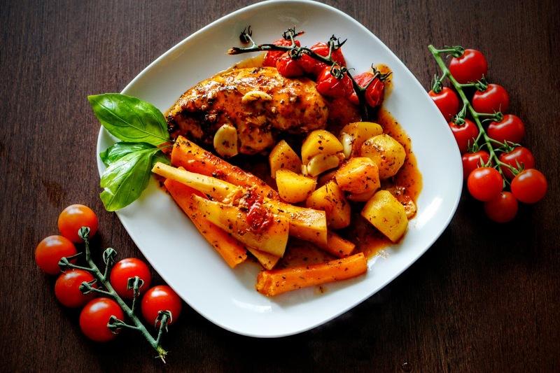 Pieczona Piers Z Kurczaka Z Warzywami Fit Fastbyewa
